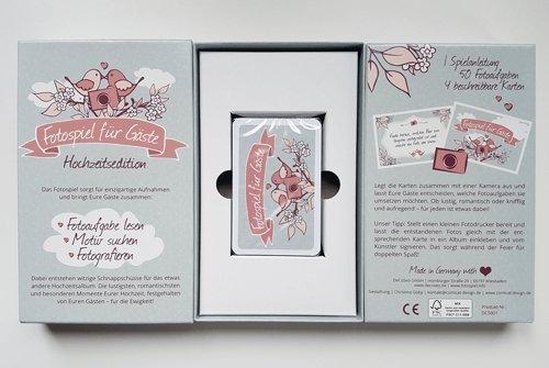 Fotospiel Hochzeitsedition Kartenbox Mit 50 Kreativen Fotoaufgaben