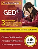 GED Study Questions Book 2021 and 2022 All