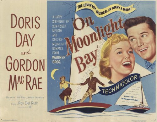 Moonlight Bay Poster (On Moonlight Bay POSTER Movie (1951) Style A 11 x 14 Inches - 28cm x 36cm (Doris Day)(Gordon MacRae)(Billy Gray)(Jack Smith)(Leon Ames))