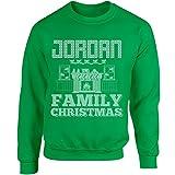 Jordan Family Christmas - Adult Sweatshirt L Irish-green