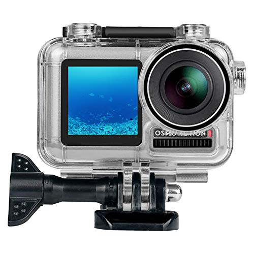 Gonine Waterproof Housing Case for DJI OSMO Action Camera, 45M Underwater Photography Diving Protective Shell Case with Bracket -