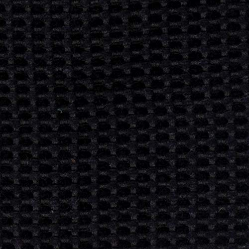 - Onyx Black Texture Plain Fr one Nfpa 701 Fr Wovens Chenille Upholstery Fabric by the yard