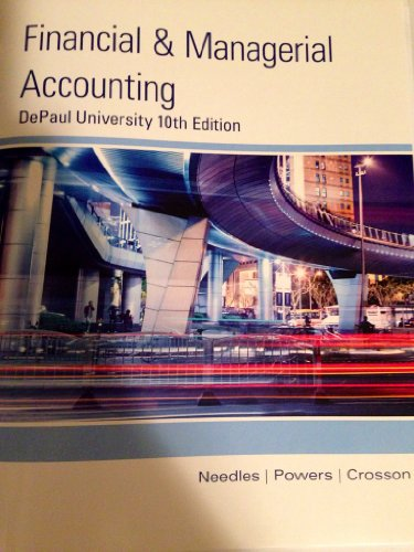 Financial and Managerial Accounting (DePaul University)