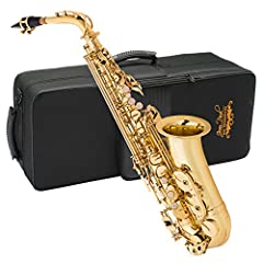 The Jean Paul AS-400 alto saxophone is the perfect sax for beginning and intermediate music students. It offers a superior tone in its class, with even key action and placement that feels just right for Band members. Its fluid key work gives ...