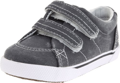 Sperry Halyard Crib Boat Shoe (Infant/Toddler),Navy,4 M US Toddler (Baby Boy Shoes Clearance)