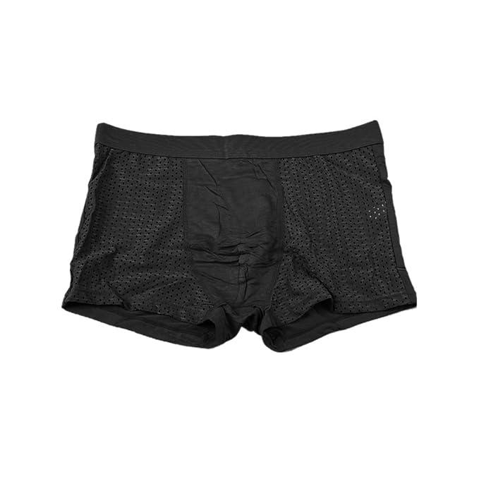 Mengonee Ropa interior para hombre escritos atractivos del acoplamiento de los pantalones de talla XL-