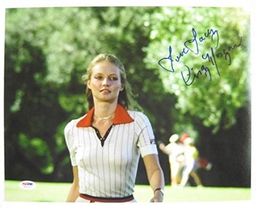 Cindy Morgan Signed Caddyshack 11x14 Inscribed Lacy Underall Photo Autograph PSA/DNA w/ COA w/ OC Dugout Hologram B -