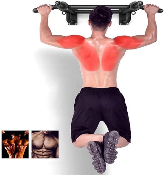Barra de ejercicios con barra para jalar montada en la pared ...