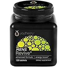 Youtheory Mens Revive Advanced, 120ct