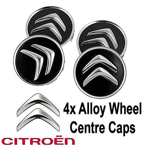 4x Citroen Alloy Wheel Centre Hub Caps in Black C1 C3 C4 DS3 60mm Most Models: Amazon.co.uk: Car & Motorbike