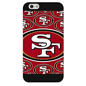 "Onelee Customized NFL Series Case for iPhone 6 4.7"", NFL Team San Francisco 49ers Logo iPhone 6 4.7"