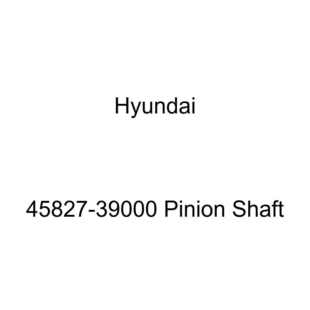 Genuine Hyundai 45827-39000 Pinion Shaft