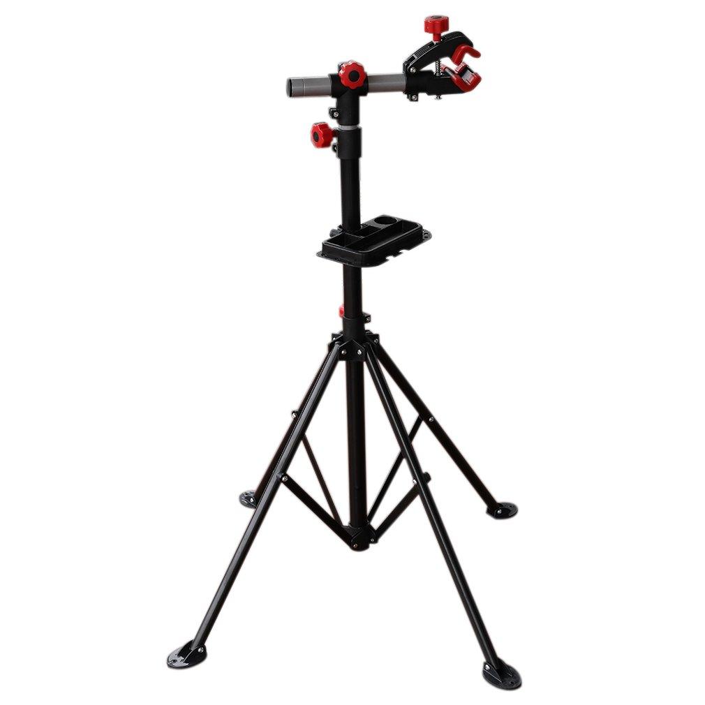 caballete soporte bicicleta Stand Mantenimiento para bicicleta Reparación Bicicletas Portabicicletas Plegable Ajustable Poncherish