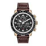 Citizen Promaster Skyhawk A-T Black Dial Leather Strap Men's...