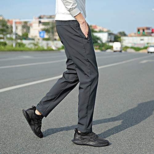 男性の新しいファッション秋冬固体熱ズボン巾着ロングパンツ