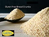 Gluten Free Bread Crumbs by Gerbs, 1 LB Bag, Top 12 Food Allergy Free, Non GMO, Vegan & Kosher - Made in USA