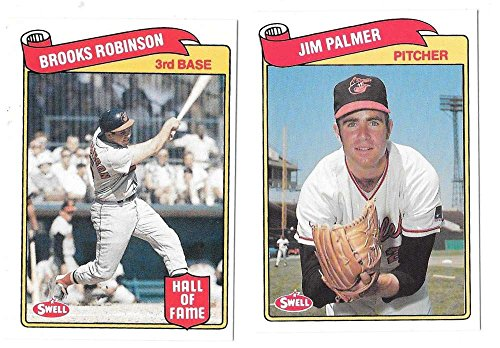 1989 Swell Baseball Greats - BALTIMORE ORIOLES Team Set