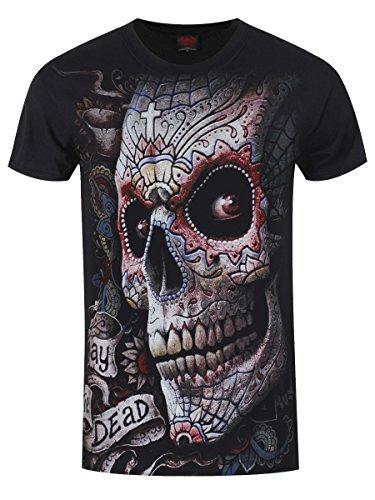 Spiral El Muerto T-Shirt schwarz