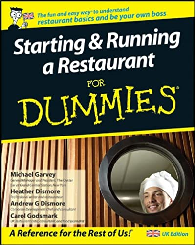 Starting And Running A Restaurant For Dummies Carol