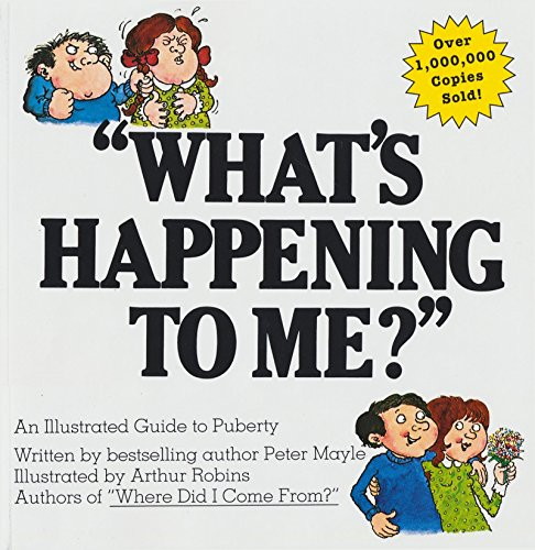 """Books : """"What's Happening to Me?"""" A Guide to Puberty"""
