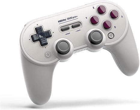 8BitDo SN30 Pro + Bluetooth Gamepad para Nintendo Switch, PC ...