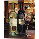 A Reflection of Wine II by Marilyn Hageman Canvas Art Wall Picture, Gallery Wrap, 16 x 20 inches