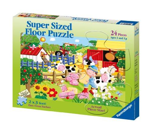(Ravensburger My Little Farm - 24 Pieces Super Sized Floor Puzzle)