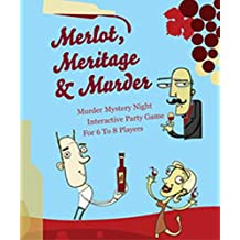 Mystery Party Night Merlot, Meritage and Murder Mystery Game