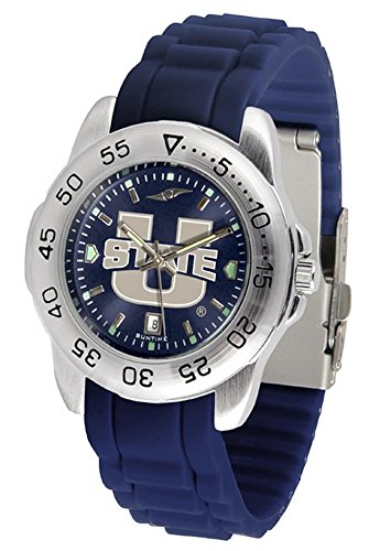(Linkswalker Mens Utah State University Aggies Sport Ac Anochrome Watch)