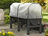 VegTrug Patio Garden with Covers, Charcoal