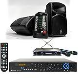 Yamaha Stagepas 600i / Acesonic BDK-2000 Karaoke Player 680W System