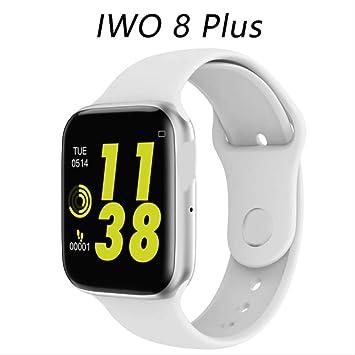 WERNG Iwo 8 Plus/ECG PPG Reloj Inteligente Hombres Frecuencia ...