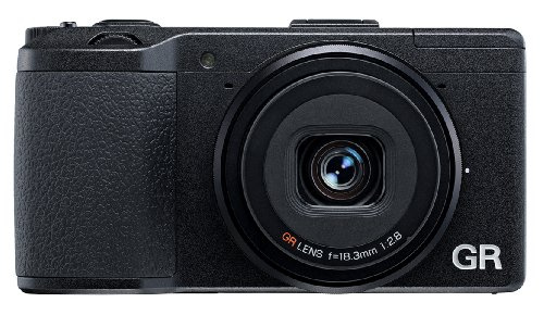 (Ricoh GR 16.2 MP Digital Camera with 3.0-Inch LED Backlit (Black))