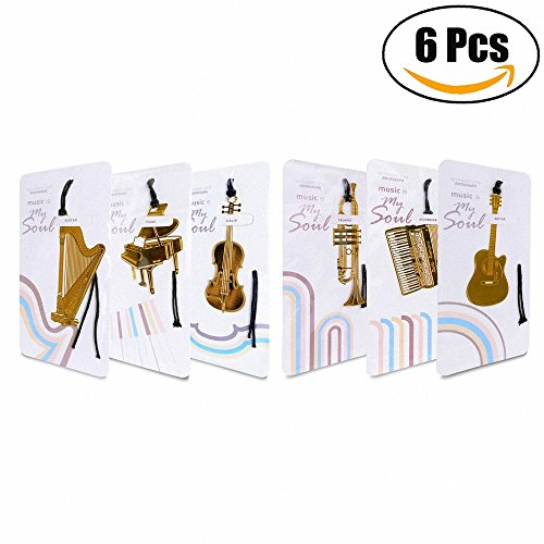 Stainless Steel Music Note Book Mark - 1