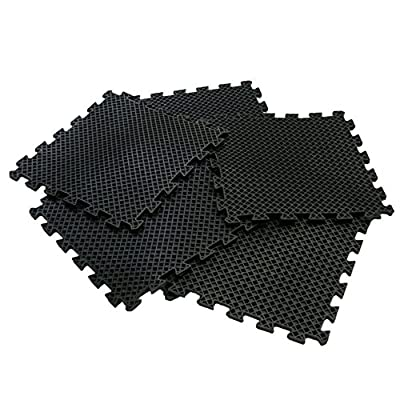 Rubber-Cal Eco-Drain Interlocking Rubber Drainage Tiles