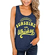 Women Graphic Tanks Tees Funny Workout Comfy Shirts Casual Beach Holiday Active Tee Tops