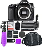 Canon EOS 80D 24.2MP CMOS Full HD Wi-Fi Enabled Digital SLR Camera (Body) + Accessory Bundle
