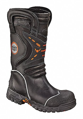 Menx27;s Structural Firefighting Boots, Size 13-1/2, Footwear Width: XW, Footwear Closure Type: Pull On (Structural Boots Firefighting)