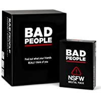 BAD PEOPLE - The Party Game You Probably Shouldn't Play + The NSFW Brutal Expansion Pack