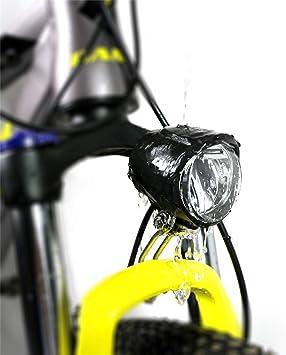 Junstar eBike 6V LED Luz trasera / Faros delanteros / Sensor de ...