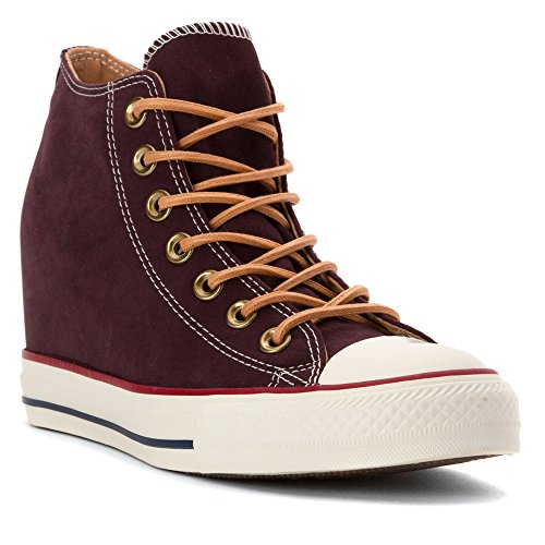 Converse - Scarpe Chuck Taylor All Star Lux Peached Tela Black Cherry/Biscuit/Egret