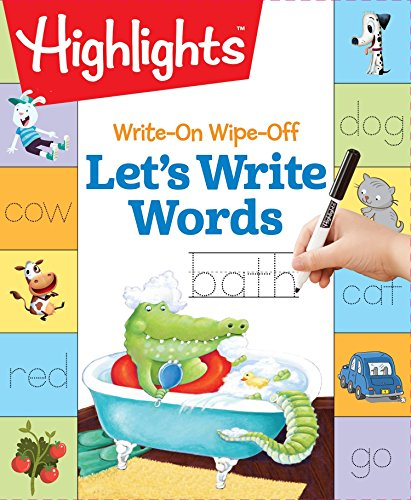 Write-On Wipe-Off Let's Write Words (HighlightsTM  Write-On Wipe-Off Fun to Learn Activity Books)