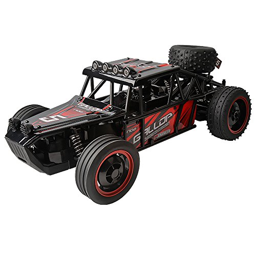 Gizmovine Remote Control RC Racing car – High Speed Red Buggy, 1/10 Scale – Fast, super control (Monster High Girl Names)