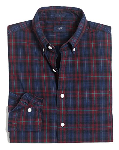 J.Crew Slim Fit Washed Button Down Shirt In Plaid