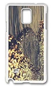 Adorable element water Hard Case Protective Shell Cell Phone Samsung Galaxy Note3 - PC White