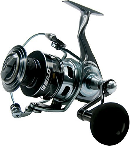 Tsunami Shield 4000 Saltwater Sealed Surf Spinning Reel Braided: 20lb 200yd New