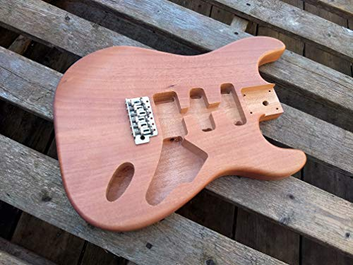HEAVY CANADIAN NORTHERN ASH SPALTED MAPLE GUITAR BODY REPLACEMENT FITS STRATOCASTER NECKS