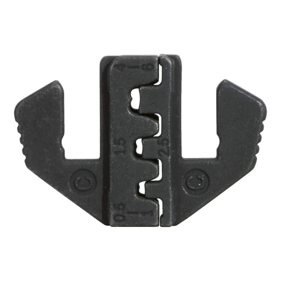 Inserto per pinza a crimpare 115.1401 per connettore piatto PAAR 4,8 e 6,3 mm KS Tools