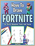 How to Draw Fortnite. 50 Skins, Weapons, Tools and Items