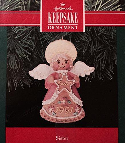 """Hallmark Keepsake Ornament """"Sister"""" 1991"""